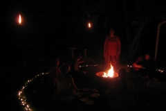Calling the Fire Deities