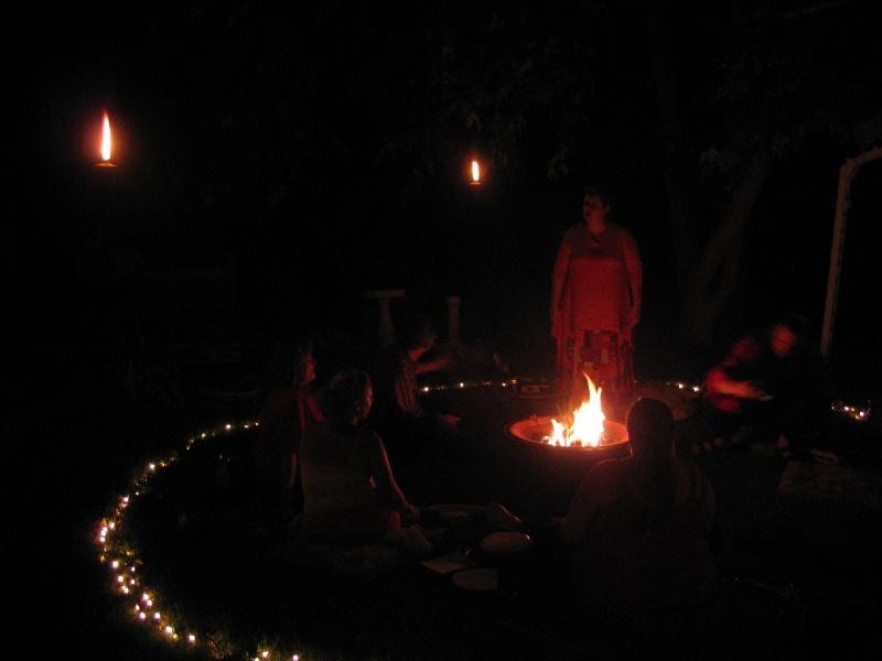 Calling the Fire Deities